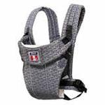 袋鼠仔仔欧范婴儿背袋简约型DS6862银灰