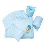婴妮儿吾啦啦婴儿床品空调被床围12件套/蓝色(预付款)