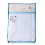 贝儿欣宝宝浴巾 - 棉质 70x100cm (粉蓝色)