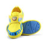 哈利宝贝男女童运动鞋B257防滑软底鞋透气网格黄色27码/160