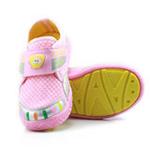 哈利宝贝男女童运动鞋B257防滑软底鞋透气网格粉色28码/165