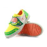哈利宝贝跑步鞋网布单鞋B233防滑耐磨软底男女同款加菲猫绿色26码/155