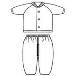 比卡诺条纹系列-胸开套装   73
