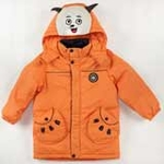 雪精灵男童羽绒服外套TP9002橙色/110