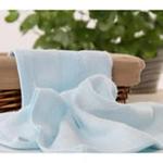 AngelDream安歌吉姆70%竹纤维大方巾蓝色AGZD1BB-B