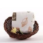 AngelDream安歌吉姆竹纤维水族毛巾粉色印花AD3C-BR