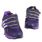 阿迪达斯小童网面透气运动鞋G62490深紫罗兰/实验紫/白金属A180