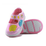 哈利宝贝秋季新款防滑软底男女童单鞋B156粉色20码/鞋垫实长150mm