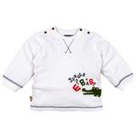 E-baby如意宝贝探险小英雄半高领保暖上衣E115157牙白/80