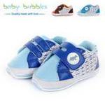 babybubbles休闲系列婴童鞋051-0082-123浅蓝/19