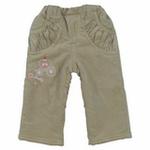 E-baby如意宝贝甜美童话保暖长裤E115235卡其/120