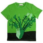 红蜻蜓花园系列短袖T恤52720373绿色/140