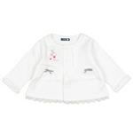 E-baby如意宝贝甜美童话小外套E113190牙白/100