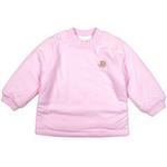 E-baby如意宝贝滑冰派克保暖半高领上衣E115143浅粉/100