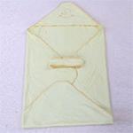 AngelDream安歌吉姆97%竹纤维小抱被黄色AGEJ5A-P