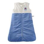 琪凯宝宝天鹅绒系列男婴睡袋背心款115053蓝色90cm