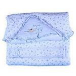 童泰婴儿棉抱被3321天蓝色均码