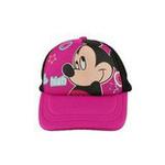 Disney迪士尼儿童小调皮网眼帽TP6081玫红50cm