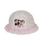 Disney迪士尼儿童米妮花边盆帽K0155粉色50cm