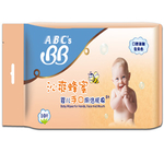 ABC's BB沁爽蜂蜜婴儿手口用洁肤棉湿巾(10片单片装)