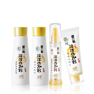 亲润豆乳滋养保湿套装(滋养保湿乳液+美肌紧致保湿精华+滋养洁面乳+保湿�