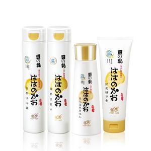 亲润豆乳洗护用品四件套(洗发水+沐浴露+护发素+豆乳身体乳)
