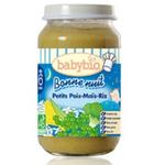 法国Babybio有机晚安玉米豌豆泥