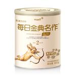 每日金典名作奶粉 韩国进口婴幼儿牛奶粉2段800g听装