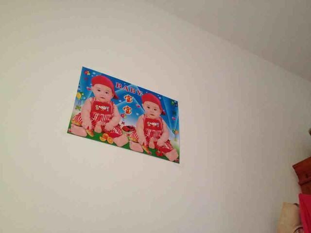 有宝妈家墙上贴这种画的吗