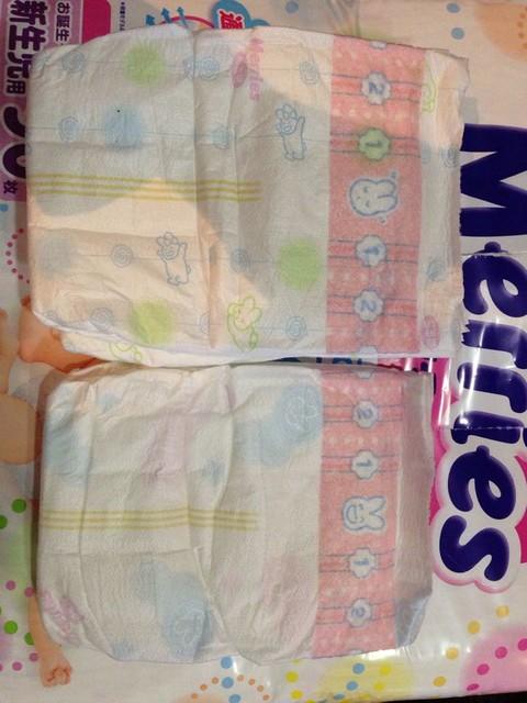 妈给宝宝用花王纸尿裤的吗