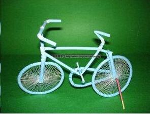 手工制作之 迷你手工自行车