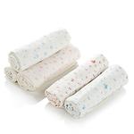 麦侬贝儿 100%纯棉印花纱布哺乳毯