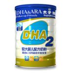 DHA较大婴儿配方奶粉(二段)