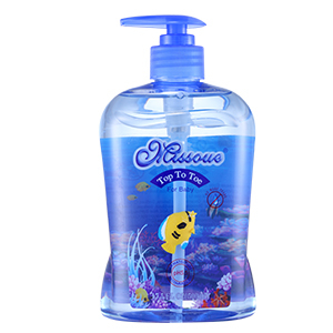 澳洲missoue蜜语进口婴儿洗发沐浴二合一500ML
