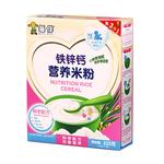 宝宝米粉米糊 婴幼儿儿童营养辅食 婴儿米粉盒装铁锌钙