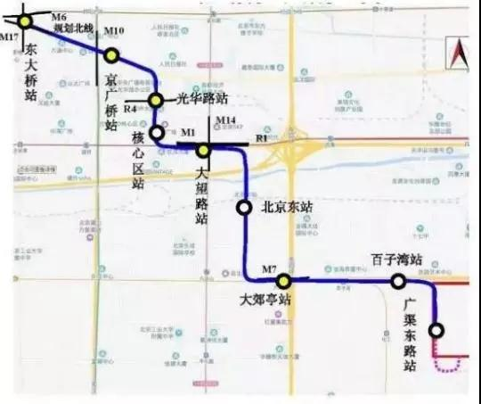 斜穿cbd!北京地铁28号线最新规划来了