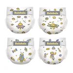 巴拉巴拉拉拉裤婴儿纸尿裤婴儿超薄透气干爽不透水体验试用装1片*4包